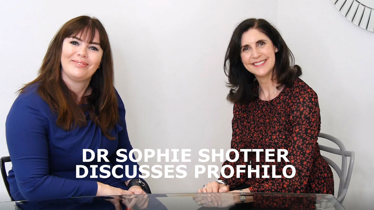 Dr Sophie Shotter discusses Profhilo with Fighting Fifty Founder Tracey McAlpine